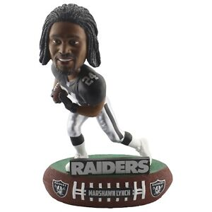 Oakland Raiders NFLPA #24 Marshawn Lynch Baller Bobblehead FREE SHIP!