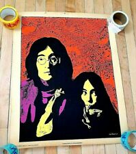 "Original JOHN LENNON & YOKO ONO ""Innocence is Invulnerable"" Psychedelic Poster"