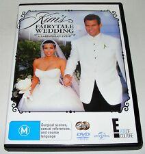 Kim's Fairytale Wedding : A Kardashian Event---- (DVD 2-Disc Set