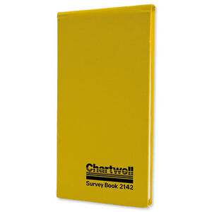 Chartwell Survey Book Dimension Weather Resistant 80 Leaf 106x205mm Ref 2142Z