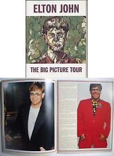 ELTON JOHN THE BIG PICTURE TOUR ORIG 1997 UK TOUR PROGRAMME, 32 PAGES (4 PAGES O