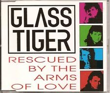 GLASS TIGER Rescued By The Arms Of Love DUTCH 3 TRX CD