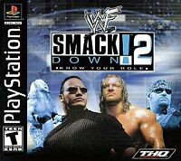 WWF Smackdown 2: Know Your Role (PlayStation 1, PS1) WWE, Disc Only, Tested