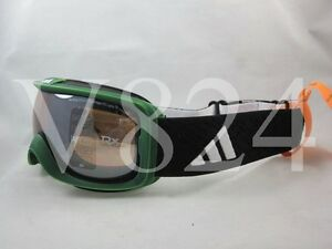 * ADIDAS A 182 ID2 PURE Snow Ski Google green washed LST Bright mirror A182-6055