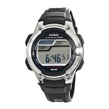 Casio W212H-1A Mens Resin Sports Watch 50M 5 Alarms Dual Time Stopwatch