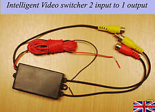 Intelligent Video Switcher for reversing camera sensor