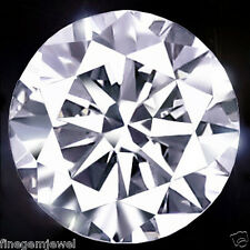 0.42ct HUGE 100% NATURAL OFF WHITE DIAMOND SPARKLING UNTREATED REAL DIAMOND NR!
