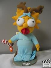 Holiday Maggie -Simpsons; Applause; Christmas Doll; Reindeer antlers; pacifier