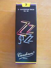 Vandoren ZZ tenorsaxophonblätter grosor 3 hojas sueltas