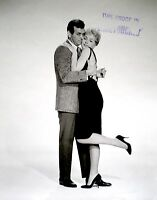 David Janssen Stella Stevens Press Photo 1961 Man Trap Promo Proof Stamped VTG