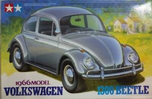 Tamiya 300024136 Volkswagen Käfer 1300 1966 Automodell Bausatz 1:24 NEU +OVP