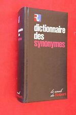 LES USUELS DU ROBERT DICTIONNAIRE DES SYNONYMES EDITION 1979