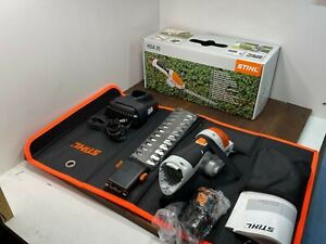 STIHL NEW OEM HSA 25 AS2 Lithium Battery Hedge Trimmer Shears w Case + Charge