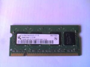 Qimonda HYS64T64020HDL-3-7-B (512MB DDR2 PC2-4200S 533MHz SODIMM 204-pin) DRAM-V