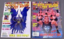 Lee's Action Figure News & Toy Review #71 Sept & #74 Dec '98 - Batman Simpsons