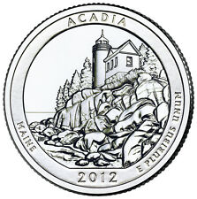 QUARTER DOLLAR DES ETATS-UNIS 2012 D - ACADIA NATIONAL PARK