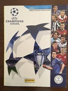 ALBUM FIGURINE PANINI Champions League 2012 2013 Completo e perfetto