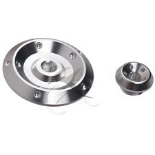 Silver Right Side Engine Cover Camshaft Plug Kit For HONDA CBR 919RR 929RR 954RR