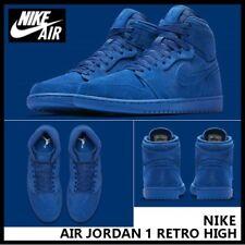NIKE AIR JORDAN 1 RETRO HIGH Triple BLUE SUEDE TEAM ROYAL 12 XII Mens 11.5 Shoes