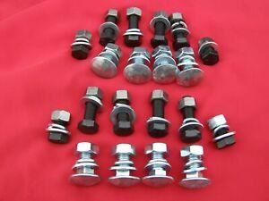Ferguson TE20,MF35,MF65 Wing Skin Mounting Bolts,Nuts,Flat &Spring Washers