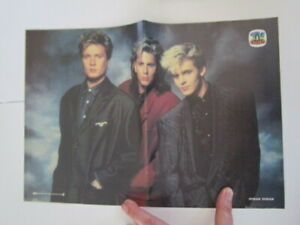 old portuguese TV GUIA poster Duran Duran