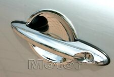 US STOCK x2 CHROME Door Handle Bucket Inserts for MINI Cooper S R50 R53 R56 JCW