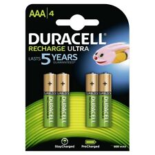 4 Stück DURACELL Recharge Akku AAA 900mAh HR03 Micro NiMH für T-Sinus 50 Telefon