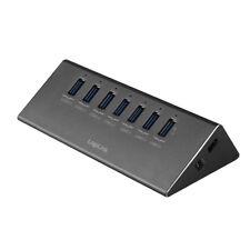 LogiLink USB 3.0 Hub 7-port 1x Schnell-ladeport