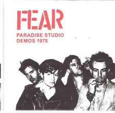 FEAR paradise studio demos 1978 ...los angeles punk rock legends top cult band