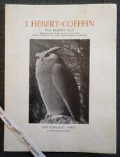 Rare Rey JOSETTE HEBERT-COËFFIN 1954 Sculptures Céramique Sèvres Grès Despiau