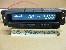 2005 HYUNDAI XG300/XG350 CENTER DISPLAY/ DIGITAL CLOCK