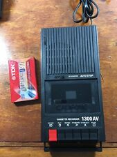Cassette Tape Recorder Deck Portable nIb Califone 1300Av