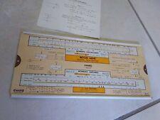OMARO règle- BETON ARME - B A 1 1952  très bon état