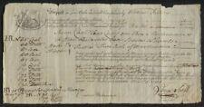 Bill of Lading London England to Boston