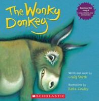 The Wonky Donkey Paperback by Craig Smith (Fast Shipping) - No Tax