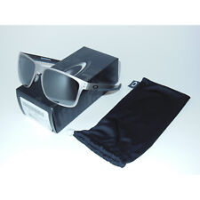New Oakley Holbrook Metal Sunglasses Satin Chrome/Black Iridium OO4123-0355
