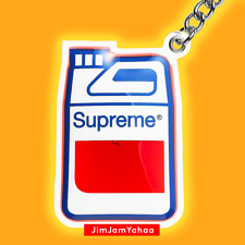 Supreme Gas Jug Keychain - Red (Brand New, Deadstock, DS, BNWT)