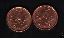 CANADA 1 CENT KM-289 2001 x 100 Pcs Lot MAPLE LEAF QUEEN UNC CURRENCY MONEY COIN