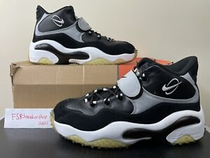 Nike Zoom Turf Training Barry Sanders Black/White/Silver Size 12 (315099-011)