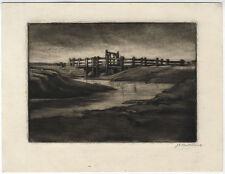 Original-Radierungen (1900-1949) mit Landschafts-Motiv