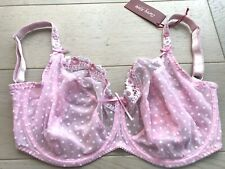 BNWT Curvy Kate Princess Bra Pink White 32J New RRP £27 Underwired