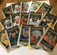 TIM HORTONS 2019-2020  HIGHLY DECORATED HD 1-15 UPPER DECK YOU PICK WHAT U NEED