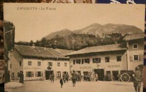 CAPORETTO LA PIAZZA - PIONIER (MINEUR) KOMPAGNIE 300 - KuK FELDPOST 7/5/18