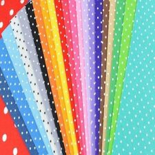 20X Dot Printed Polyester Polka Fabric Polyester Handmade Nonwoven Material YA9C