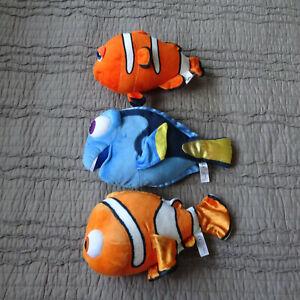 Nemo, Dori + Fisch - waschbar