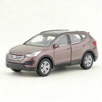 Hyundai Santafe 1:36 Scale Model Car Metal Diecast Gift Toy Vehicle Kids Brown