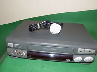 BUSH VCR923NVP Video Cassette Recorder VHS Smart VCR Grey Quality Slim