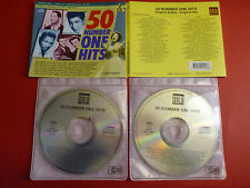50 Number One Hits CDs ONLY Made in Belgium
