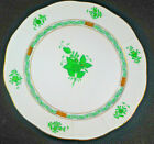 """1 Herend Hungary Chinese Green Bouquet 10"""" DINNER PLATE #524 SLIGHT FLAW"""