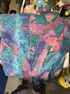 Vintage Springmaid Set Quilted Bedspread Comforter Sheets 2 Shams Full 80's90's